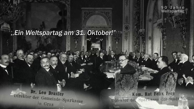 90 Jahre Weltspartag