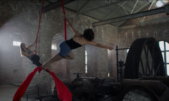 PwC – Aerial Silk