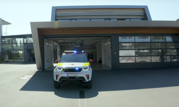 Landrover & Red Cross – First Responder